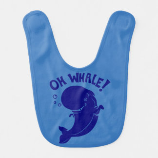 Oh Whale Bib