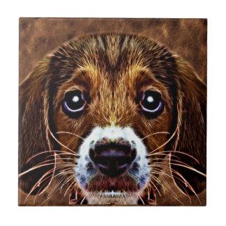 OH! What a Puppy Dog! - Precious Beagle Tile