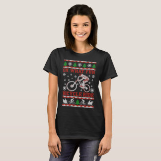 Oh What Fun Bicycle Ride T-Shirt