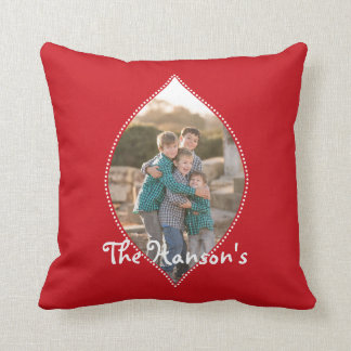Oh What Fun! Christmas photo pillow