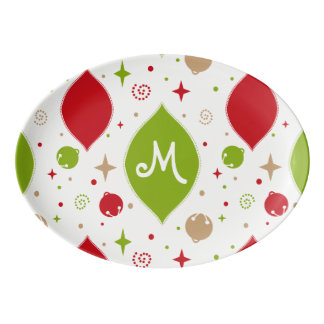 Oh What Fun! Christmas serving platter