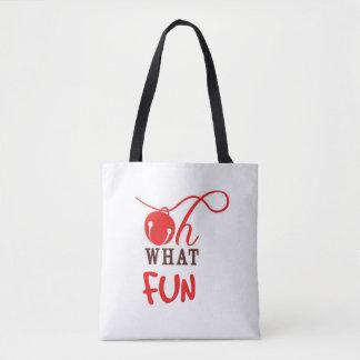 Oh What FUN! Christmas Tote Bag