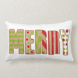 Oh What Fun! Merry Christmas pillow