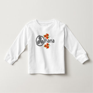 Ohana = Family Toddler T-Shirt