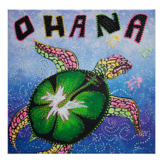 Ohana Means Family Poster