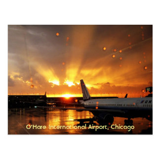 O'Hare International Airport (Chicago) Postcard