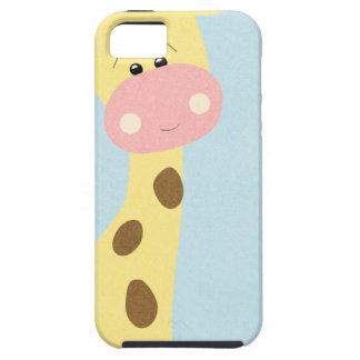 OhBabyBaby_giraffe-journal-card CUTE BABY GIRAFFE iPhone 5 Covers