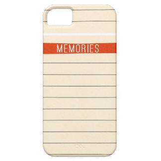 OhBabyBaby_memories-journal-card SCRAP BOOKING MEM Case For iPhone 5/5S