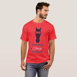 OHD Obsessive Horse Disorder T-Shirt
