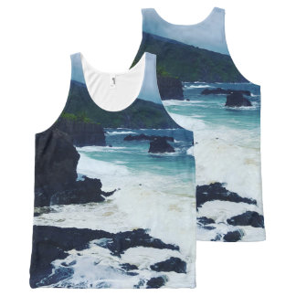 O'heo Gulch Maui All-Over Print Singlet