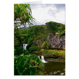 O'heo Gulch Pools, Maui Card