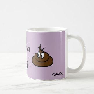 Ohhh Crap!! LAVENDER MUG! Coffee Mug