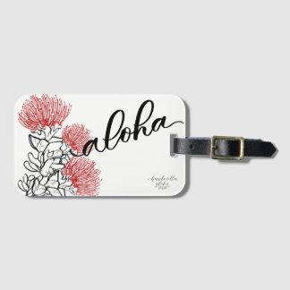Ohia Lehua Mod Aloha Luggage Tag