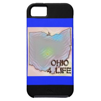 """""""Ohio 4 Life"""" State Map Pride Design Case For The iPhone 5"""