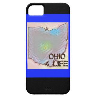 """""""Ohio 4 Life"""" State Map Pride Design iPhone 5 Case"""