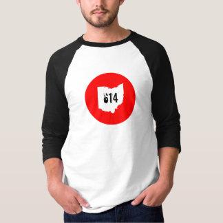 Ohio 614 3/4 Sleeve T-Shirt