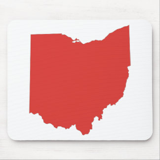 Ohio - a RED State Mouse Pad