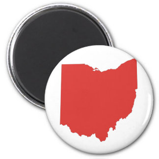 Ohio - a RED State Refrigerator Magnets