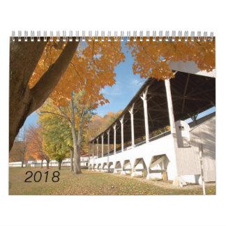 Ohio and Fairfield County 2018 Calendar
