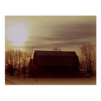 Ohio Barn Postcard