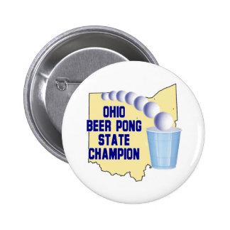 Ohio Beer Pong Champion Pins