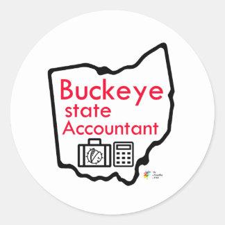 Ohio Buckeye State Accounting Sticker