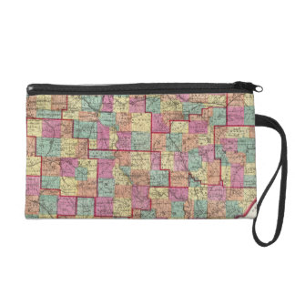 Ohio Counties Wristlet