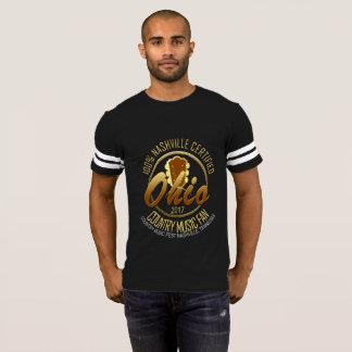 Ohio Country Music Fan Men's Football T-Shirt