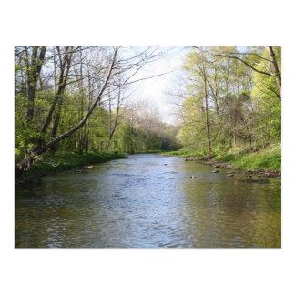 Ohio Countryside Postcard