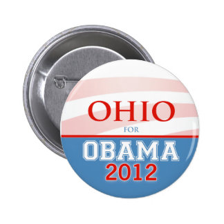 OHIO for Obama 2012 Buttons