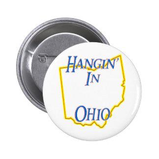 Ohio - Hangin' 6 Cm Round Badge