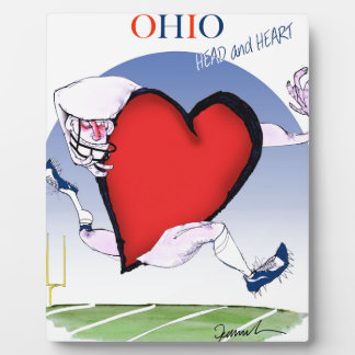 ohio head heart, tony fernandes plaque