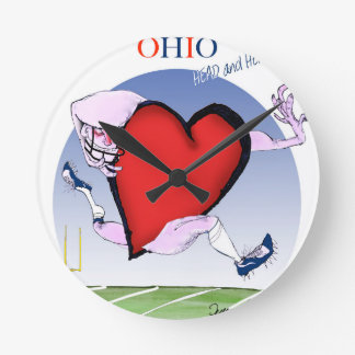 ohio head heart, tony fernandes round clock