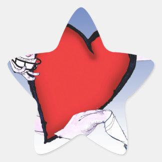 ohio head heart, tony fernandes star sticker