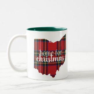 Ohio - Home for Christmas Mug