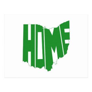 Ohio Home state Postcard