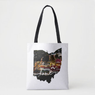Ohio is home.... Lancaster Fairgrounds in Ohio Tote Bag