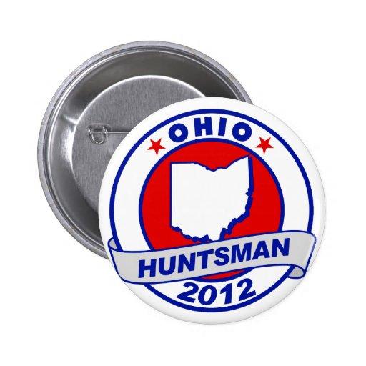 Ohio Jon Huntsman Buttons