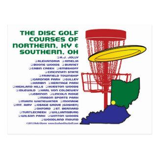 Ohio Kentucky Disc Golf Postcard