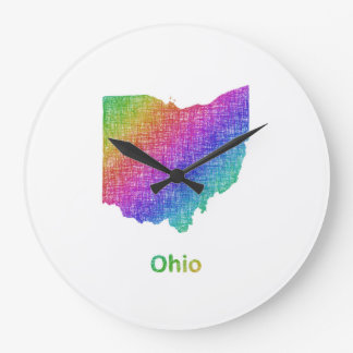 Ohio Large Clock