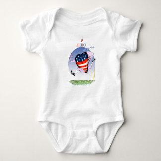 ohio loud and proud, tony fernandes baby bodysuit