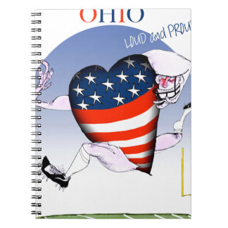 ohio loud and proud, tony fernandes notebooks