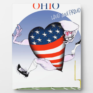 ohio loud and proud, tony fernandes plaque