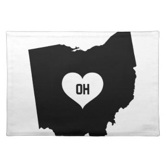 Ohio Love Placemat