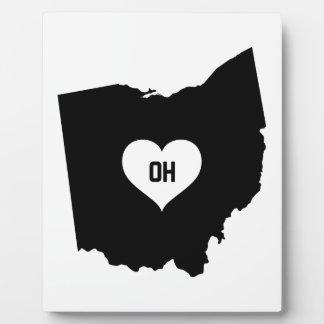 Ohio Love Plaque
