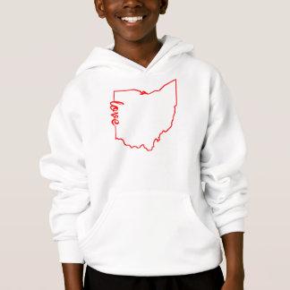 Ohio Love State Silhouette