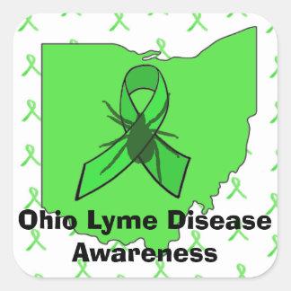 Ohio Lyme Disease Awareness Stickers