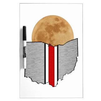 Ohio Moonlight Dry Erase Board