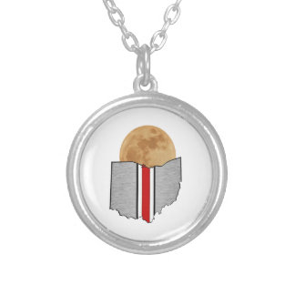 Ohio Moonlight Silver Plated Necklace