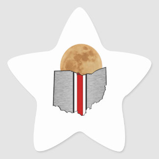 Ohio Moonlight Star Sticker